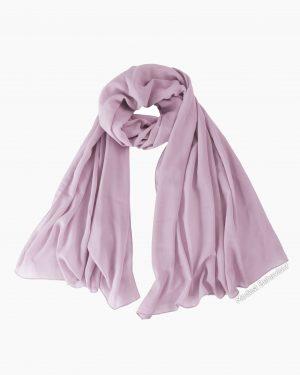 Lavender Blush Chiffon Hijab