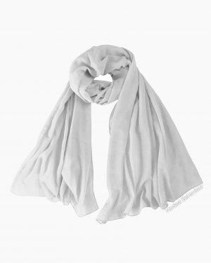 White Chiffon Hijab