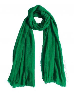 Emerald Green Crinkle Hijab