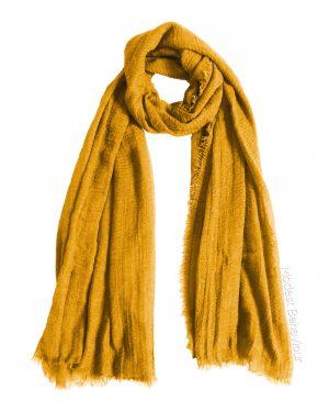 Mustard Yellow Crinkle Hijab