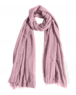 Pink Tea Crinkle Hijab