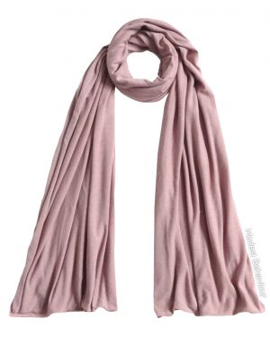 Pink Tea Jersey Hijab