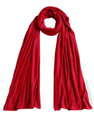 Red Rose Jersey Hijab