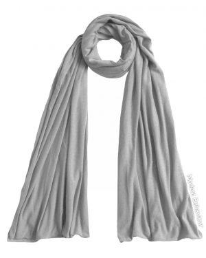 Silver Jersey Hijab