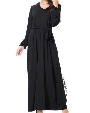 Black Elegance Abaya