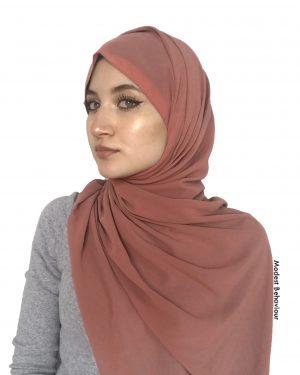 Spice Chiffon Hijab
