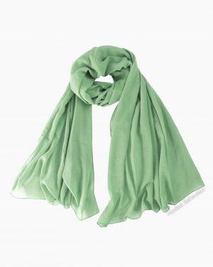 Pistachio Green Chiffon Hijab