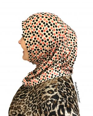 Designer RB Polka Dot One Piece Hijab