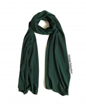 Evergreen Solid Hijab