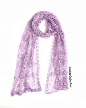 Lilac Lace Hijab