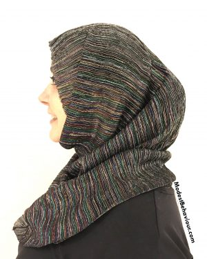 Rainbow Shimmer One Piece Hijab