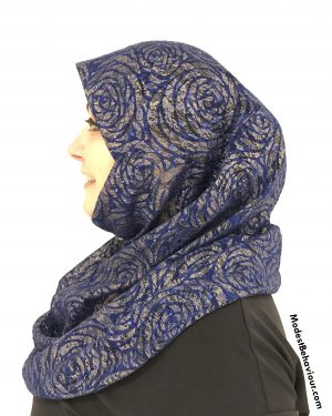 Royal Rose Lace One Piece Hijab