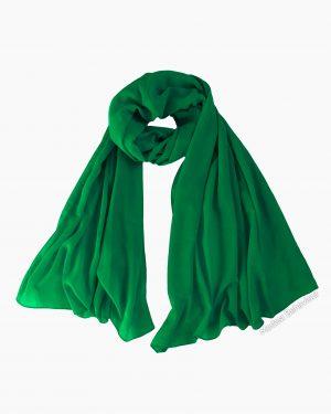 Emerald Green Chiffon Hijab