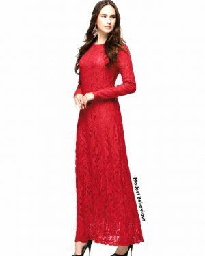 Classy Lace Maxi Dress