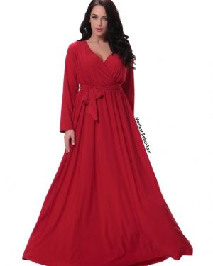 Criss Cross A Line Maxi Dress