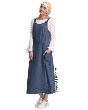 Denim Tank Top Dress