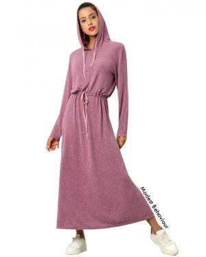 Hoodie Maxi Dress