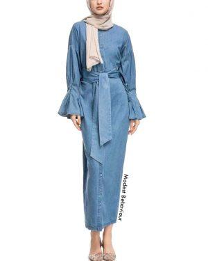 Jeans Maxi Dress