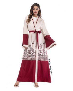 Turkish Open Abaya