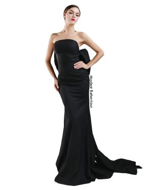Bow Tied Evening Gown