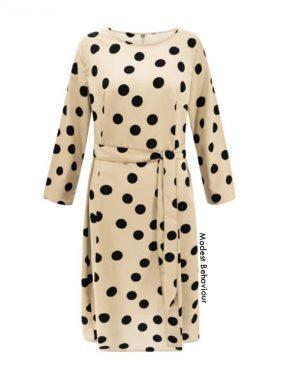 Polka Dot Maxi Dress Top