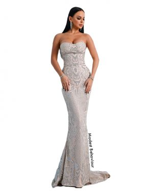 Sweetheart Mermaid Evening Gown