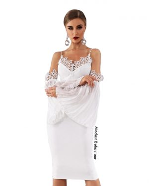 Angel Wing Evening Dress