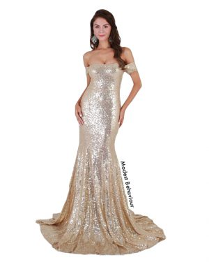 Belle Mermaid Evening Gown