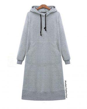 Pullover Long Hoodie