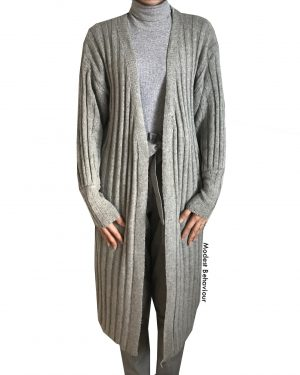 Lantern Sleeve Sweater Cardigan