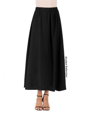 High Waisted Gathered Skirt