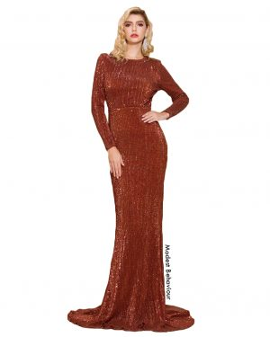Spicy Sequins Mermaid Evening Gown