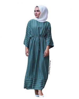 Sailor Striped Maxi Dress