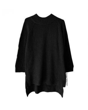 Lantern Sleeve Knit Sweater