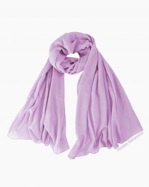Lavender Chiffon Hijab