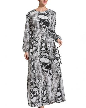 Cobra Maxi Dress