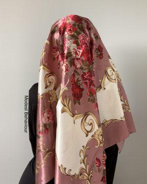 Dusty Rose Square Hijab