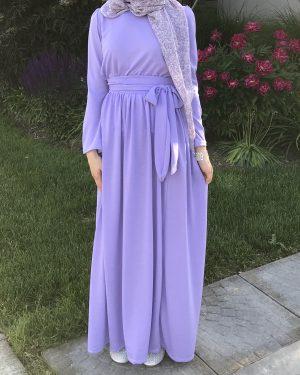 Lavender 2 Piece Dress