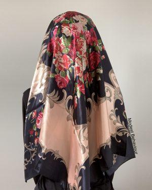 Rose Square Hijab